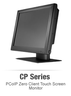 CP series zero client touch screen monitors
